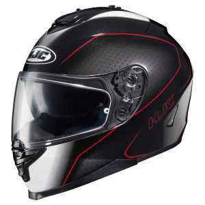 HJC IS-17 Arcus Helmet - Black/Red