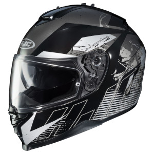 HJC IS-17 Blur Helmet - Grey