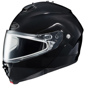 HJC IS-MAX II Dual Lens Helmet - Black