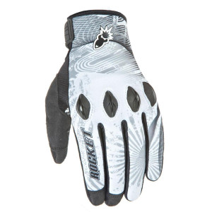 Joe Rocket Rocket Nation 2.0 Gloves - White