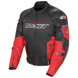 Joe Rocket Resistor Mens Mesh Motorcycle Jacket