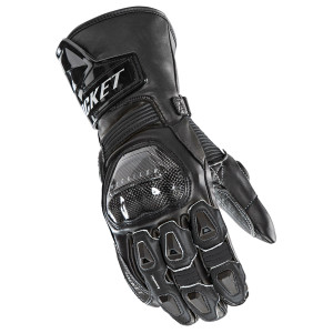 Joe Rocket GPX Mens Leather Motorcycle Gloves - Black