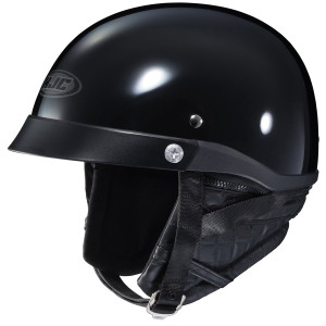 HJC CL-Iron Road Half Helmet - Black
