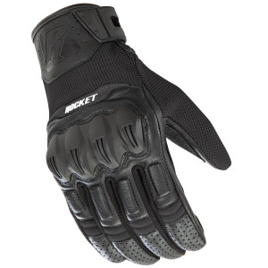 Joe Rocket Phoenix 5.1 Motorcycle Gloves - Black