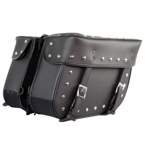Leather Like Biker Saddlebags