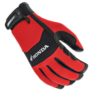 Joe Rocket Honda Crew Touch Mens Textile Motorcycle Gloves