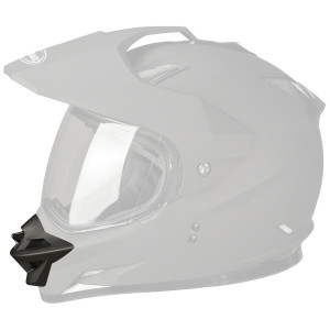 521d3605 GMax GM11D Dual Sport Helmet Mouth Vent 2015-Flat Black