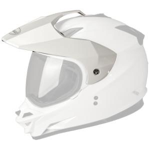GMax GM11D Dual Sport Helmet Visor - White