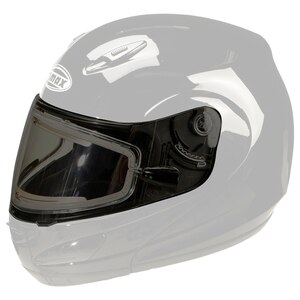 GMax GM44S Helmet Dual Lens Electric Flip Shield with Holes