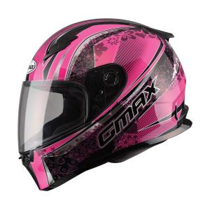 GMax Women's FF49 Elegance Helmet-Pink