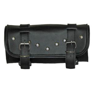 Vance TB108 Black Motorcycle Tool Bag for Indian Honda Yamaha Kawasaki and Harley Motorcycles
