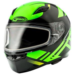GMax FF49 Berg Snow Hi-Viz Helmet-Black/Green