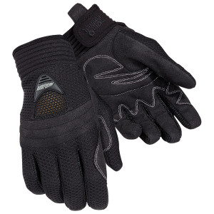 Tour Master Women's Airflow Mesh Gloves - Black