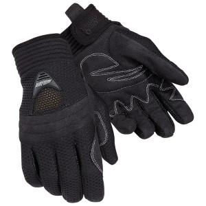 Tour Master Women's Airflow Mesh Motorcycle Gloves - Black