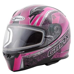 GMax Women's FF49 Elegance Snow Helmet-Pink
