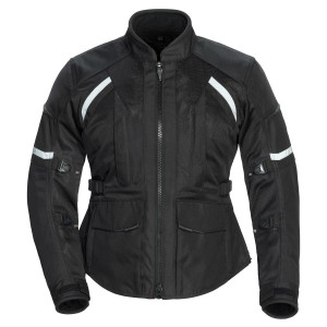 Tour Master Women's Sonora Air 2.0 Textile Jacket - Black