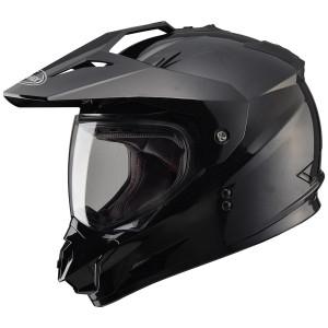 GMax GM11D Dual Sport Helmet-Black