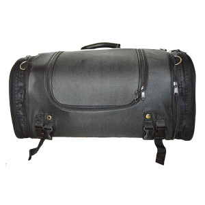 Motorcycle Trunk Bag with Expandable Sides