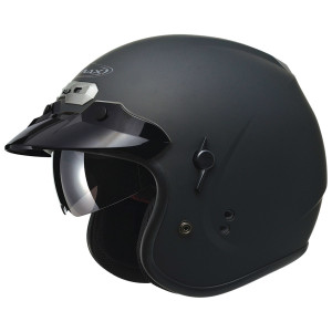GMax GM32S Open-Face Helmet-Flat Black