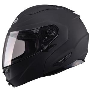 Gmax GM64S Modular Helmet Flat Black