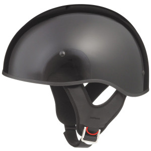 GMax GM65 Naked Half Helmet-Black