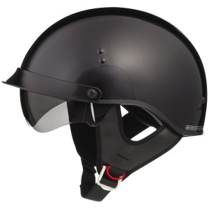GMax GM65 Shorty Half Helmet - Black