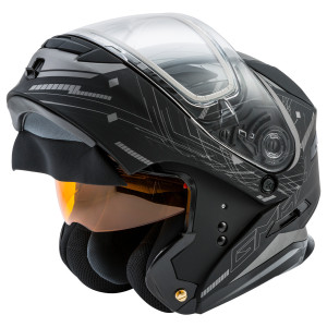 GMax MD01 Wired Snow Modular Helmet