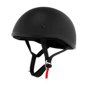 Skid Lid Original Flat Black Half Helmet