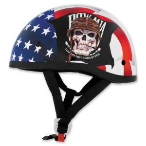 Skid Lid Original POW MIA Half Helmet