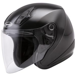 GMax OF17 Open Face Helmet - Black