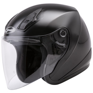 GMax OF17 Open Face Helmet - Black