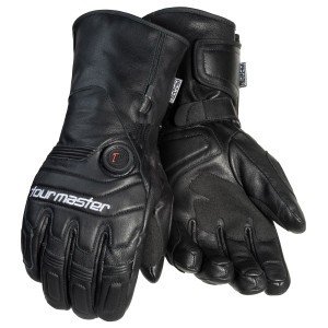 Tour Master Women's Synergy 7.4 Heated Leather Motorcycle Gloves