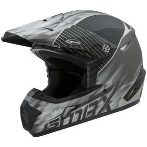 Gmax MX46 Colfax Helmet - Black/Silver