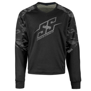 Speed And Strength Critical Mass Reinforced Moto Shirt