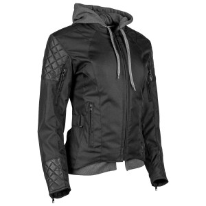 Speed And Strength Double Take Women's Textile Jacket - Black