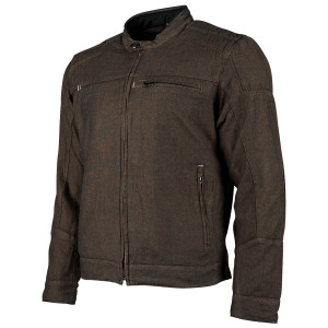Speed And Strength Overhaul Denim Moto Jacket - Brown