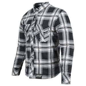 Speed And Strength Rust and Redemption Armored Motoshirt - Grey