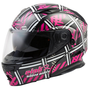 Gmax MD01 Pink Ribbon Riders Helmet