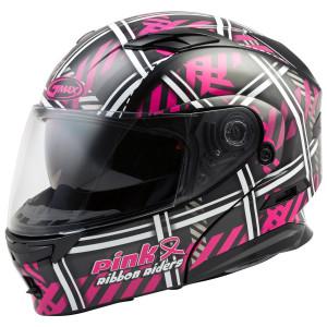 Gmax MD01 Pink Ribbon Riders Helmet