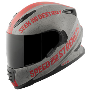 Speed And Strength SS1600 Cruise Missile Red Helmet
