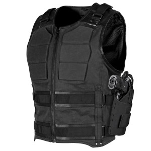 Speed And Strength True Grit Mens CE Armored Motorcycle Vest - Black