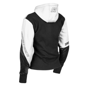 Speed And Strength Women's Cat Out'a Hell Armored Hoody - Rear View