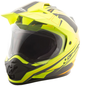 GMax GM11D Expedition Hi-Viz Dual Sport Helmet