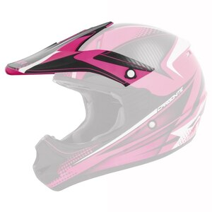 Cyber UX-23 Carbonite Visor - Pink