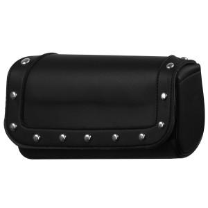 Vance TB200 Studded Black Motorcycle Tool Bag for Indian Honda Yamaha Kawasaki and Harley Motorcycles