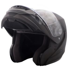 GMax MD04 Modular Graphic Helmet-Open View