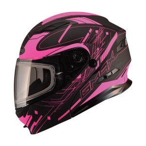 GMax Women's MD01 Wired Snow Modular Helmet