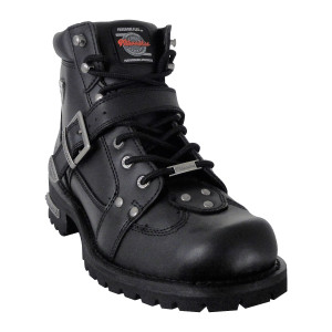 Milwaukee Road Captain Motorcycle Boots