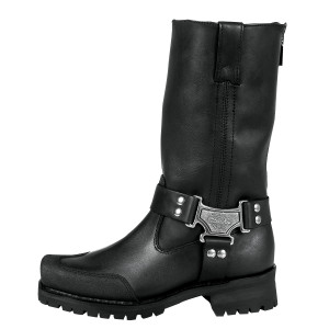 Milwaukee Drag Harness Motorcycle Boots