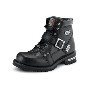 Milwaukee Women's Road Captain Motorcycle Boots
